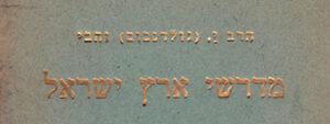 Midrash on Eretz Israel