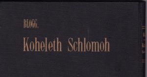 Salomon Ephraim Blogg
