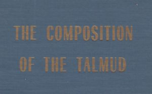 The Composition of the Talmud